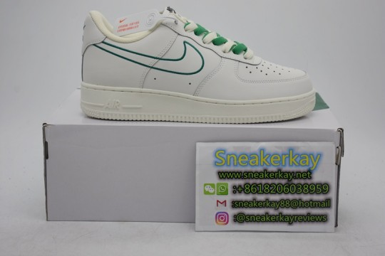 Nike Air Force 1 Low White Pine Green