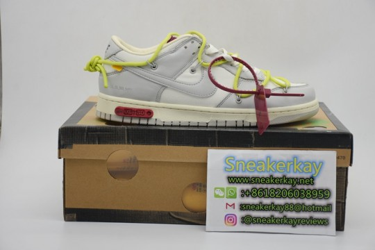 Nike Dunk Low Off-White Lot 8