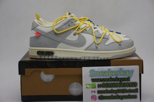 Nike Dunk Low Off-White Lot 27
