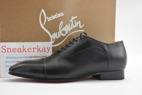 C-hristian L-ouboutin Leather shoes