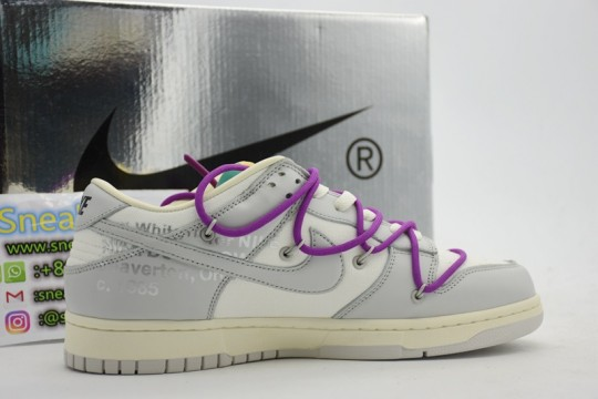 Nike Dunk Low Off-White Lot 48 DM1602 100