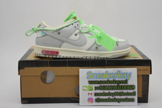 Nike Dunk Low Off-White Lot 7