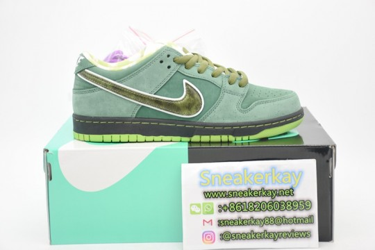 Nike SB Dunk Low Concepts Green Lobster (Special Box)